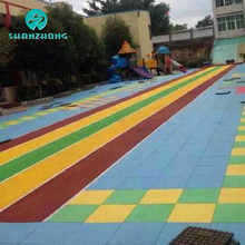 Commercial great value gym flooring used rubber pad