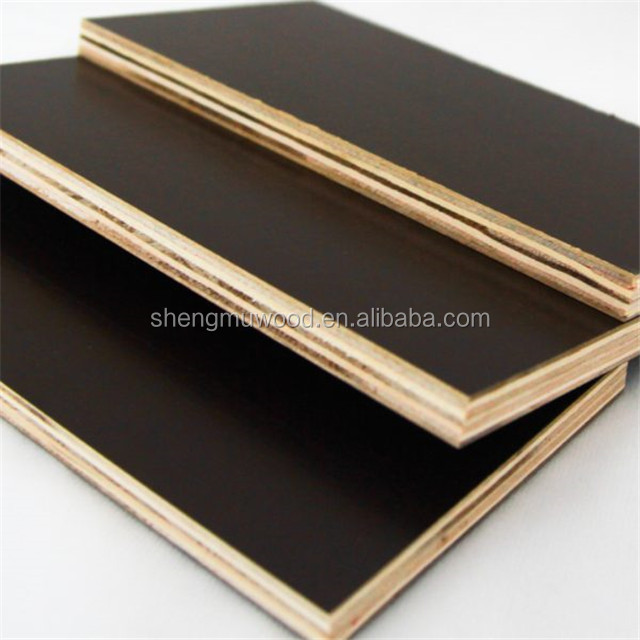 film faced plywood poplar core wbp glue/12mm film faced plywood price