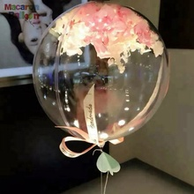 36 zoll Baby Dusche Mädchen Diamant Transparent Bobo Luftballons Klar Ballon <span class=keywords><strong>Party</strong></span> Decor Prop kinder Geburtstag <span class=keywords><strong>Party</strong></span> KBF102