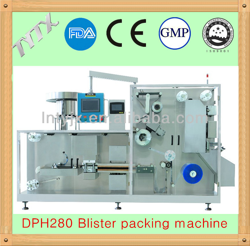DPH280 ROLLER BOARD BLISTER PACKING MACHINE