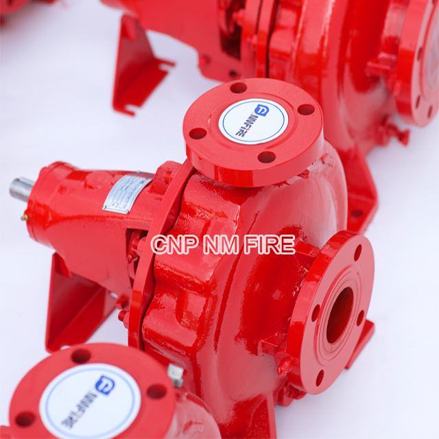 Ul Fm Listed Fire Fighting Pump Set With Electric Motor