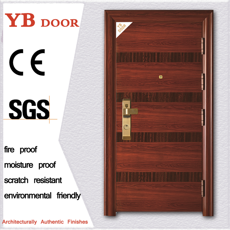chinese manufacturer romantic nigeria iron design simple doors YBSD-901
