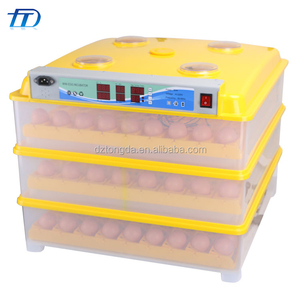Chicken eggs incubator with gas brooder in China