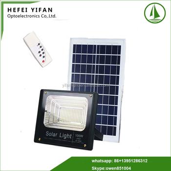 196 Pcs 5835 Smd Led Outdoor Solar Flood Lights 6v 60w 100w Solar