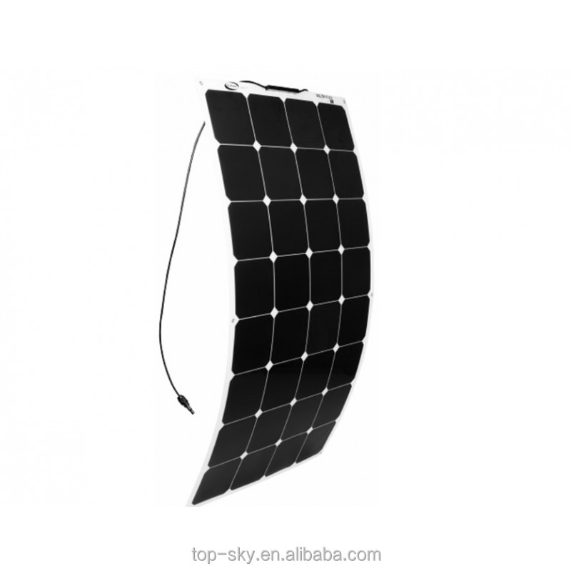 High efficiency Sunpower cell 250W Semi Flexible solar panel from China