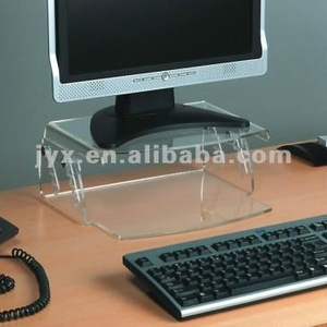 Fantastic acrylic laptop stand with adjustable height