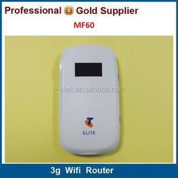 Zte Mf60 21mbps 3g Hotspot 850/1900/2100mhz Telstra Mobile Wifi - Buy Zte  Mf60 Mobile Hotspot,Unlock Wifi Hotspot Zte Mf60,3g Telstra Mobile Wifi