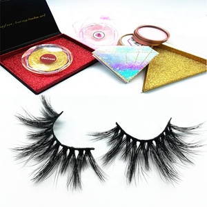 Wholesales private Label Custom Lashes Packaging 3D Real Mink Lashes