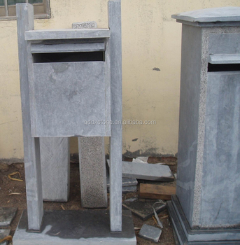 Qingdao Dongxin Outer door Honed Blue Limestone letterbox/mailbox : outer door - pezcame.com