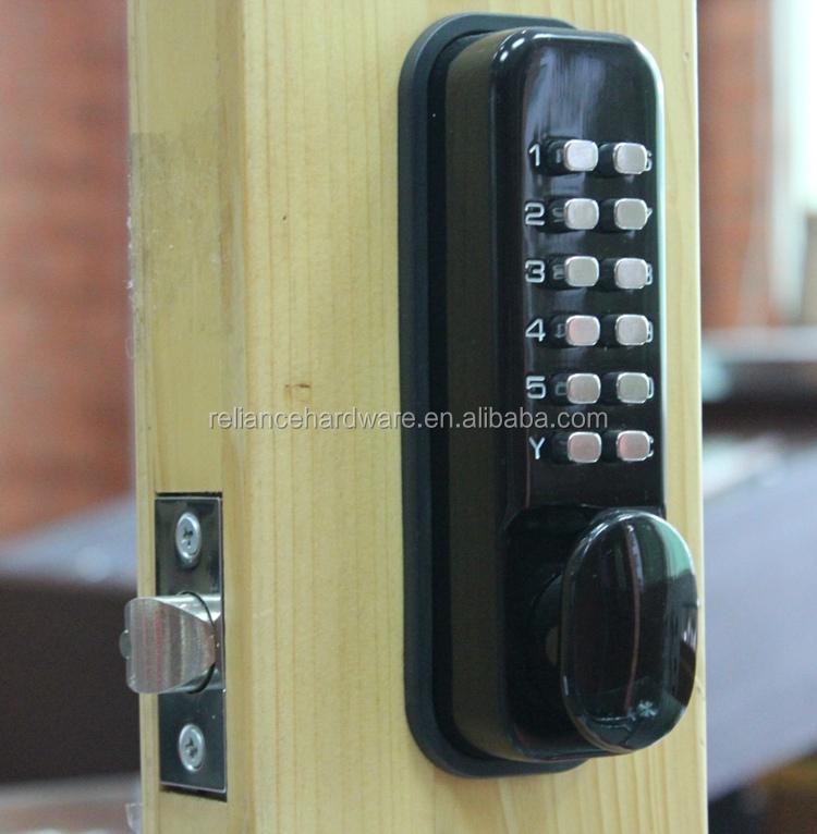 Palanca de entrada sin llave cerraduras de puerta digital for Cerradura sin llave
