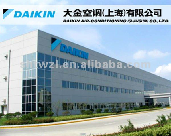 daikin air conditioning slim ceiling mounted ducted fan coil unit