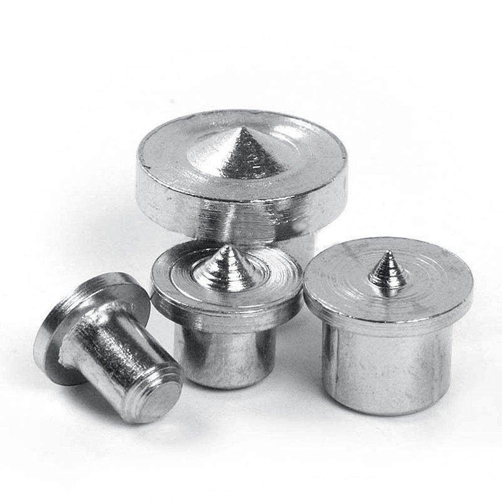 8-Piece Dowel and Tenon Center Set, Dowel Drill Centre Points Pin Wood 6mm 8mm 10mm 12mm Dowel Tenon Center Set