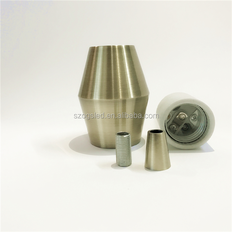 Aluminum lamp socket e27 light socket hanging lamp holder for lamp