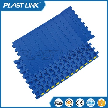 Plast Link1400 conveyor slat belt for candy packaging conveyor belt