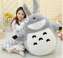 Hot Sale 60CM Famous Cartoon Totoro Plush Toys Smiling Soft Stuffed Kids Toy High Quality Dolls