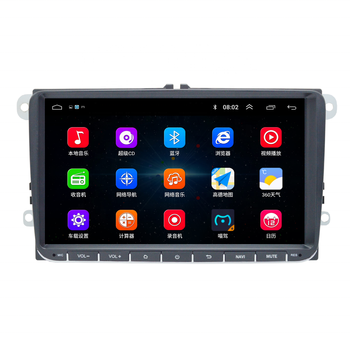 Shenzhen factory 9 inch touch screen gps player android car audio system for vw amarok/caddy/bora/polo