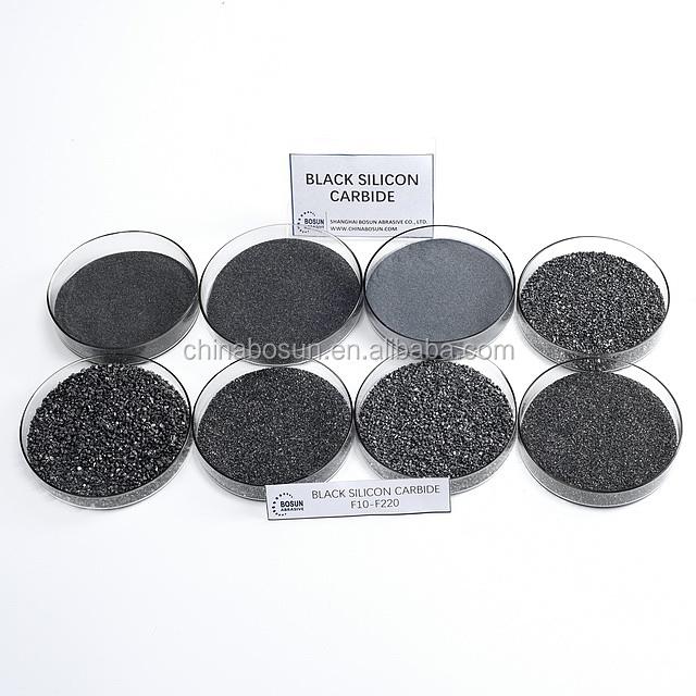98% Black silicon carbide grit F150,F180,F220,F320