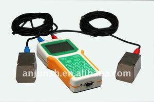 handhold ultrasonic heating flow meter/transi-time ultrasonic flow meter-AFV5G