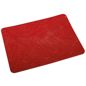 Food grade rectangle silicone glass drying mat