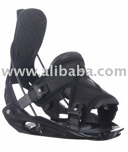 Flow Flite 2 Snowboard Bindings Black-Mens