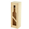 wooden wine gift box , wine bottle gift box with slide lid