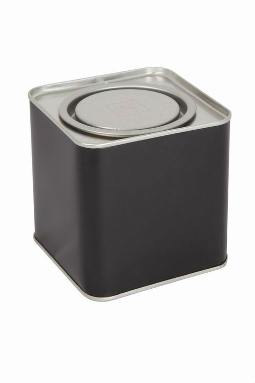 metal square tin cans
