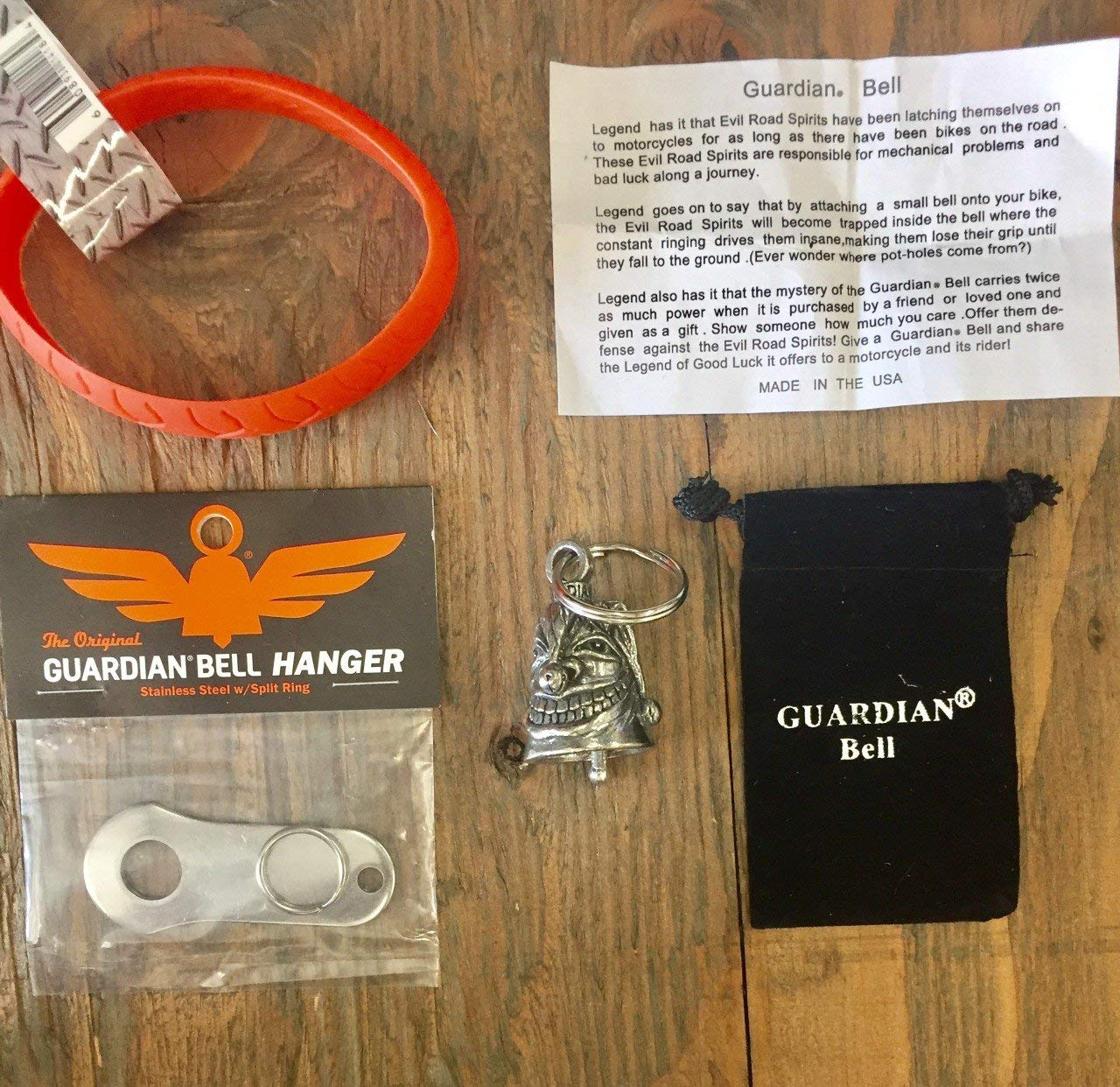 Guardian® Bell JOKER COMPLETE KIT W/HANGER & WRISTBAND