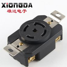Chinese suppliers Cheap Price hot sale 30A 120V-208V NEMA L21-30R hdmi wall schuko waterproof socket