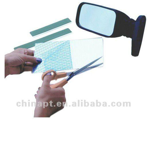 F cil de cortar y pegar reemplazo de espejo para el coche for Espejos para pegar