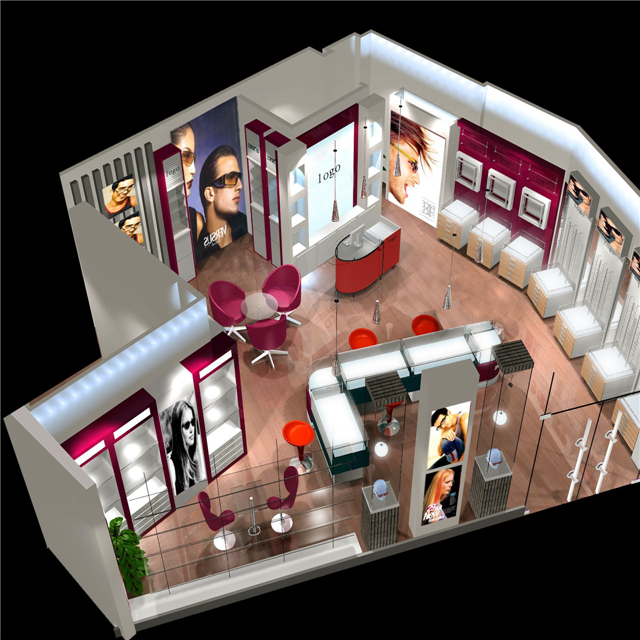 Creative Showcase Optical Shop Names For Commercial Optical Retail Store