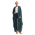 Embroidery New Designs Fashionable Pakistan Abaya Dark Green Chunky Knit Pattern Pictures Baby Wool Winter Cardigan Womens