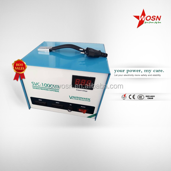 1000va single phase avr servo 110v-220v computer stabilizer