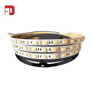 Color changing 12V 5050 flexible double sided led strip light