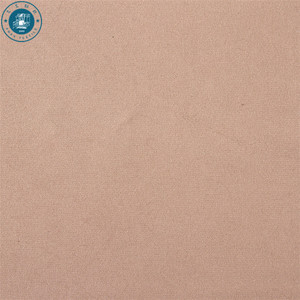 AZO free recycled polyester staple fiber synthetic for faux fur fabric microfiber suede