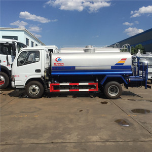 5000 Liters Industrial / Drinking Water Truck Stainless Steel Carbon Steel Water Tank Truck for sale