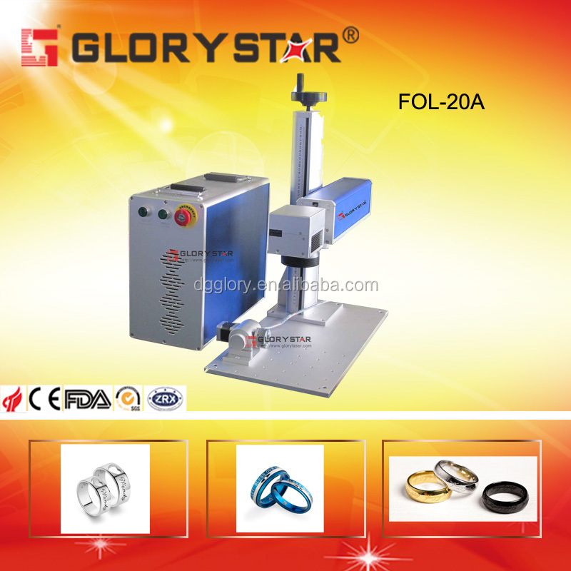 20W Gold Jewelry Portable Fiber Laser Engraving and marking machine