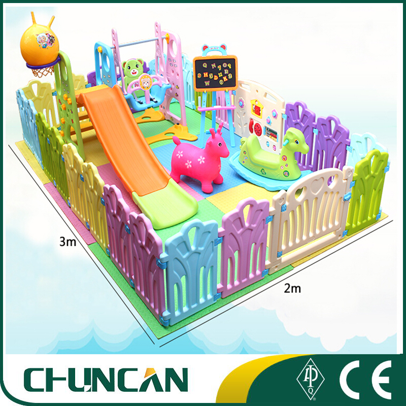 Commercial use plastic small Indoor children playground