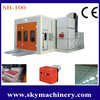 High quality CE approved price car paint booth/car workshop equipment/automatic spray booth