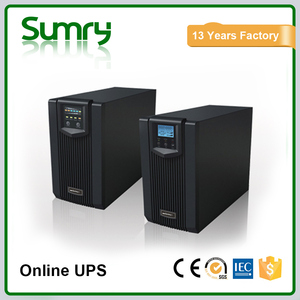 Wide use high frequency ups online power supply 1kva 2kva 3kva with chargable battery