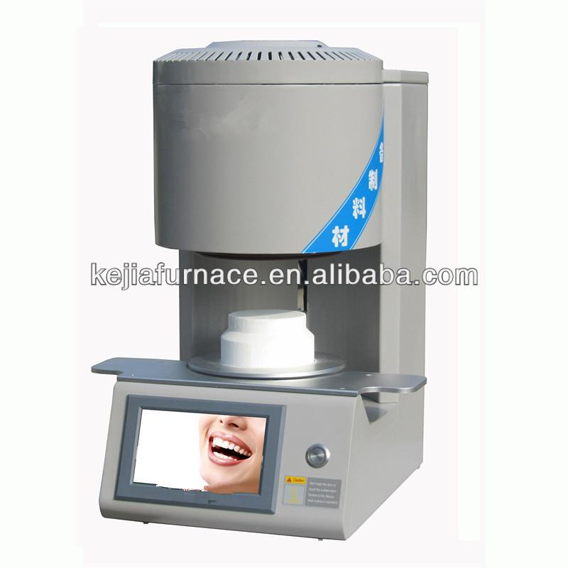 Programmable controlled dental porcelain furnace for ceramics
