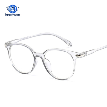 a702d33202 2018 Fashion Women Glasses Frame Men Eyeglasses Frame Vintage Round Clear  Lens Glasses Optical Spectacle Frame