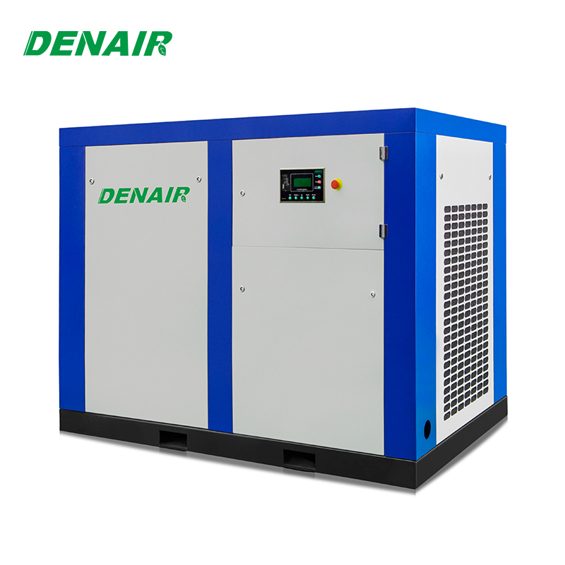 screw 90 kw 120Hp air compressor with 5 kw air dryer