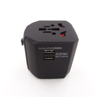 Original Design Own Patent Universal Travel Adapter with usb port guangzhou factory