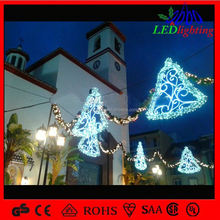 City Decoration Holiday Street Skylines Decorarion Motif Light