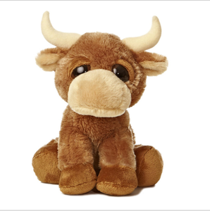 Wholesale factory custom plush cow soft stuffed plush cow toy company mascot plush toy