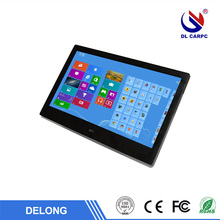 most popular 17 inch 10 points capacitive touch desktop all in one pc