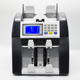 Professional banknote detecting sorter cash counting machine vacuum note currency counter bill sorting machine
