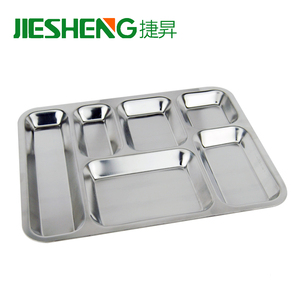 Cheap bulk sale insulated fast lunch plate hospital food tray for jail