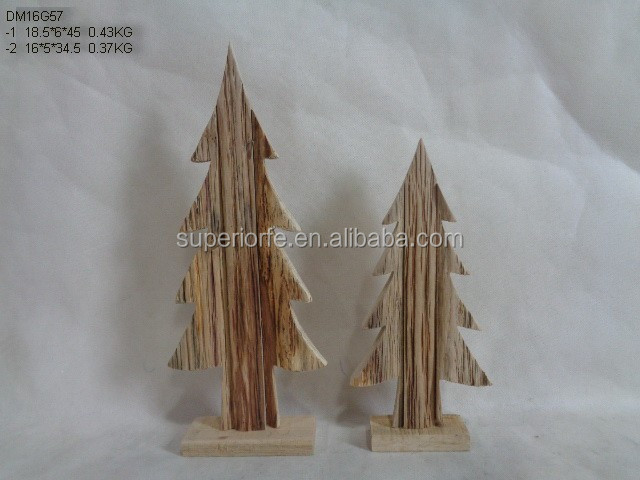 Artificial Wood Made Christmas Tree Buy High Quality