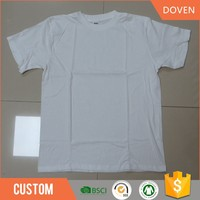 Wholesale cheap white t shirts in bulk for promotion